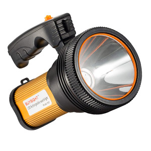 BUYSIGHT Bright Rechargeable Searchlight handheld LED Flashlight for Camping