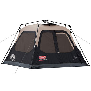 Coleman 4-person Cabin Pop-up Camping Tent Instant Set-up