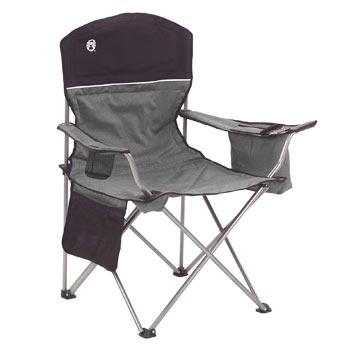 Coleman Portable Quad Chair with 4-Can Cooler
