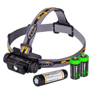 EdisonBright Bundle Fenix Rechargeable Camping Headlamp