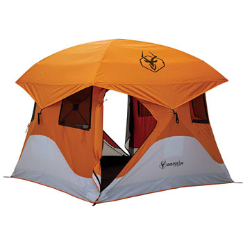 Gazelle Pop-Up Portable Camping Hub Tent 4-Person