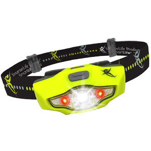 SmarterLife LED Headlamp Light for Camping