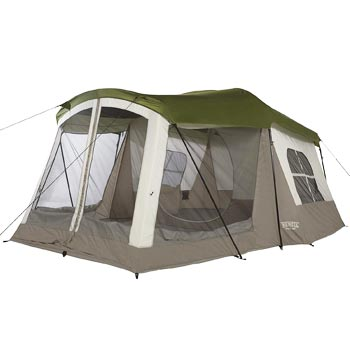 WENZEL 8-Person Klondike Family Camping Tent