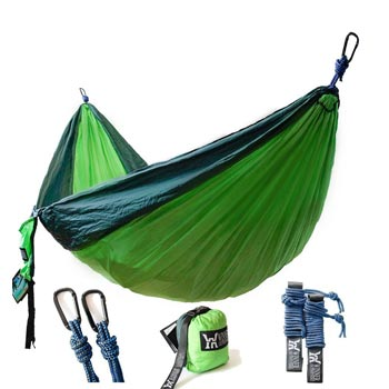 Winner Outfitters Lightweight Nylon Portable Parachute Hammock for Backpacking