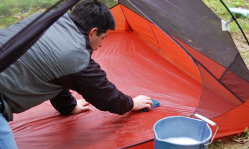family tent repair and cleaning tips