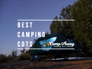 top rated camping cots