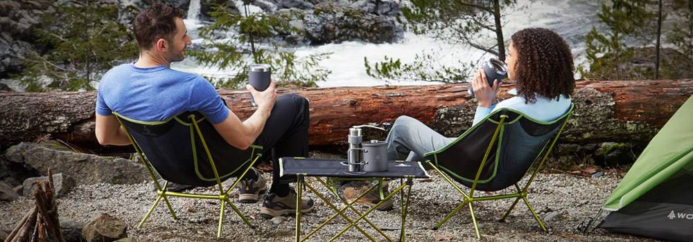 camp furniture chair table cot hammock