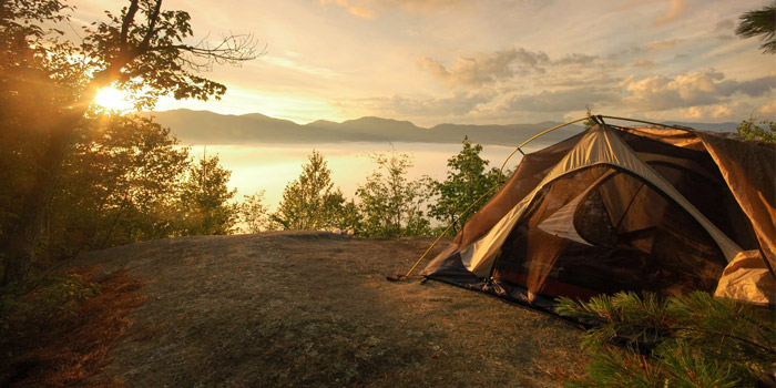 summer camping places