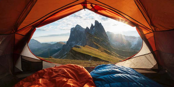 tent camping benefits