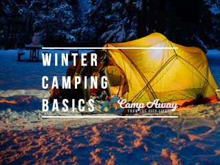 winter camping basics featured