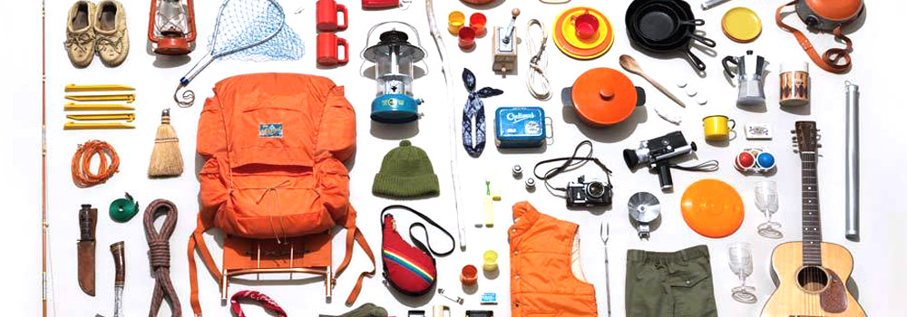 camping tools and accessories