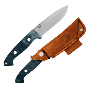 Benchmade Bushcrafter 162 Fixed Blade Outdoor Survival Knife