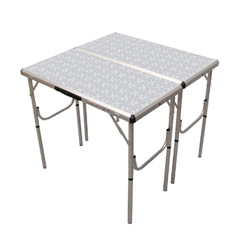 Coleman Pack Away 4-in-1 Adjustable Height Folding Table