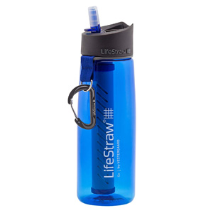 LifeStraw Go Water Filter Bottle for Camping, Hiking and Backpacking