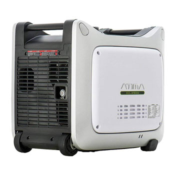 Atima Small Portable Inverter Generator with Gas Powered Yamaha Engine for RV and Camping