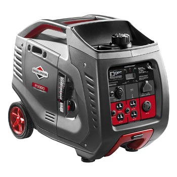 Briggs Stratton Power Smart Series Portable 3000 Watt Inverter Generator