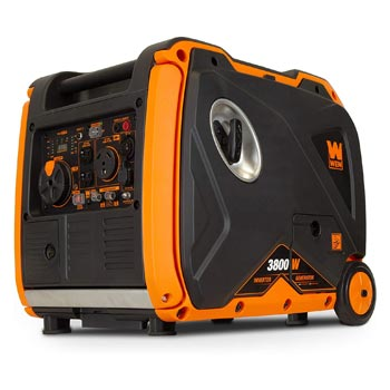 WEN Quiet 3800 Watt Portable Inverter Generator with Fuel Shut Off