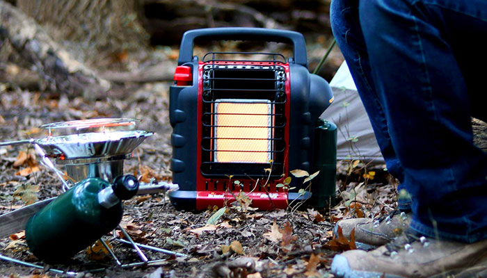 best camping tent heater