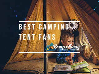 best camping tent fans featured