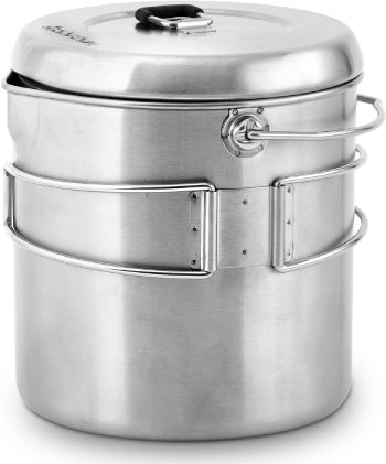 Solo Stove Pot 1800 Stainless Steel Companion Pot Titan