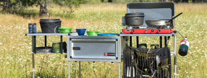 Camping Kitchen & Accessories