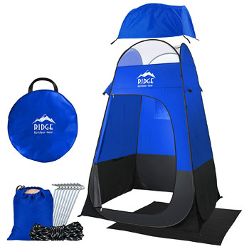 Ridge Outdoor Gear Pop Up Changing Shower Privacy Tent