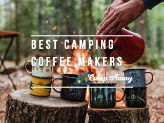 best camping coffee maker reviews featured