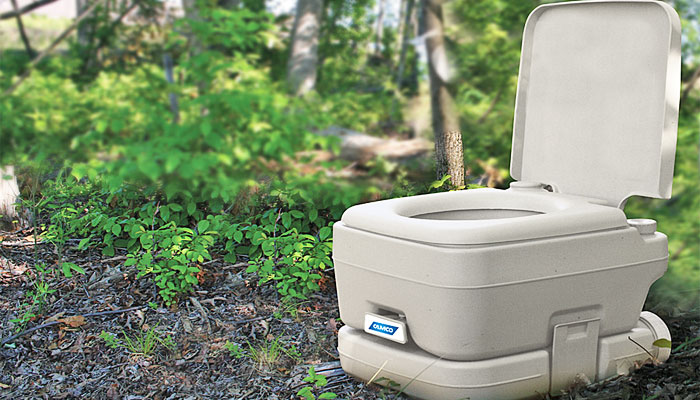 best camping toilet