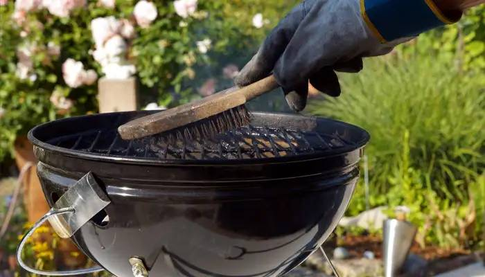 camping grill cleaning guide