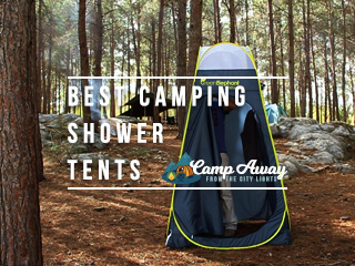 best camping shower tent reviews featured