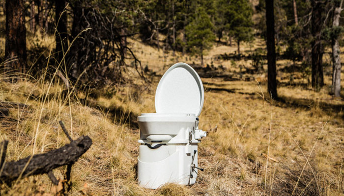 camping toilet types