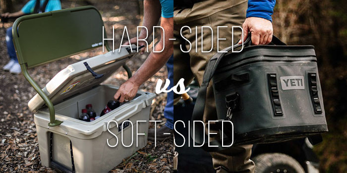 hard vs soft camping coolers