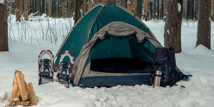 How to Keep Your Tent Warm