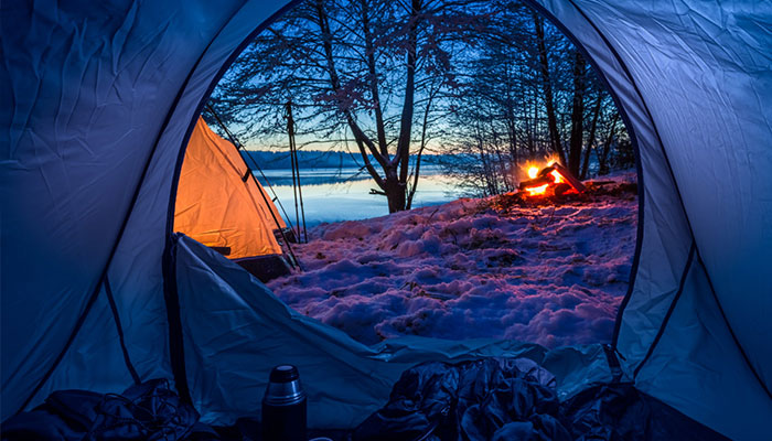 Tips for Keeping a Tent Warm