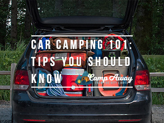 car camping 101: Tips to Make Your Car Camping Easier featured
