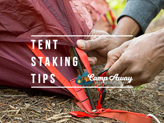 tips for tent staking featured