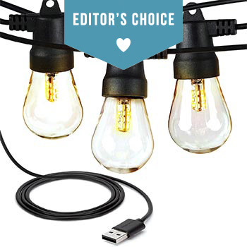 Editor's Choice String Light for Camping