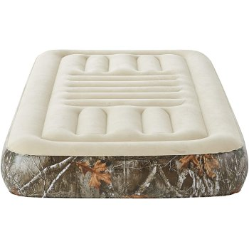 The Bedroom Store Camouflage Camping Tri-Zone Air Mattress