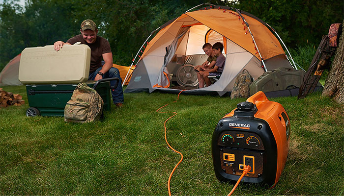 Uses for a Generator at the Campsite