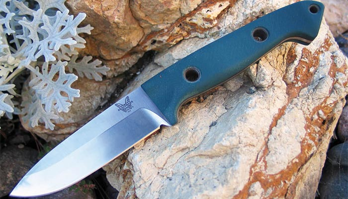 Benchmade-Bushcrafter-162-Blade-and-Handle-Material